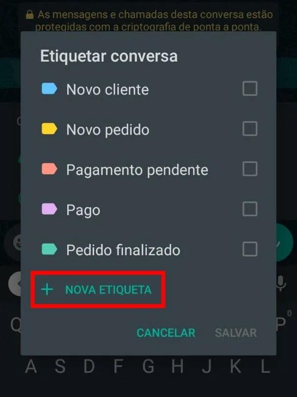 Como Criar No WhatsApp Business Etiquetas Organizadas ( Tutorial Completo 2021) 4