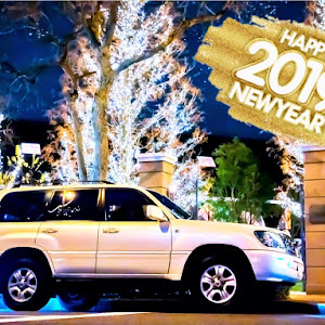 ランドクルーザー100  中期 ガソリンのカスタム事例画像 ばーたさんの2019年01月01日23:24の投稿