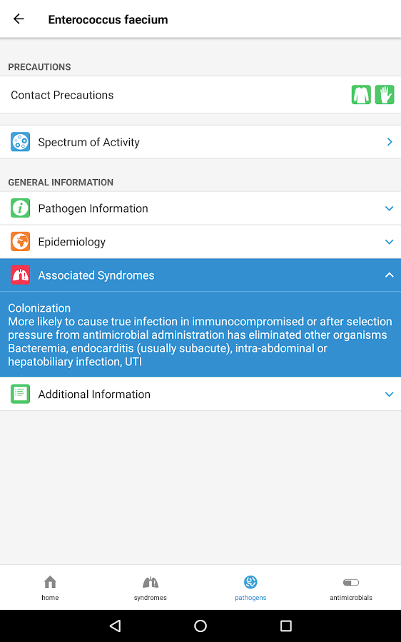 Spectrum - Localized Antimicrobial Stewardship- screenshot
