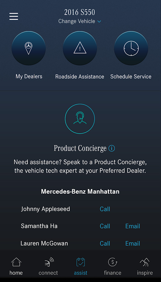 Mercedes me (USA)- screenshot