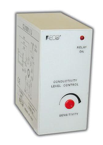 Kontrollrelä Nivå, 11-poligt, växlande reläutgång 5A, 230VAC