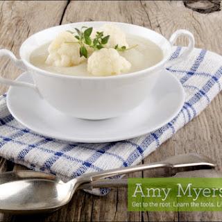 Cardamom Spiced Cauliflower Soup.