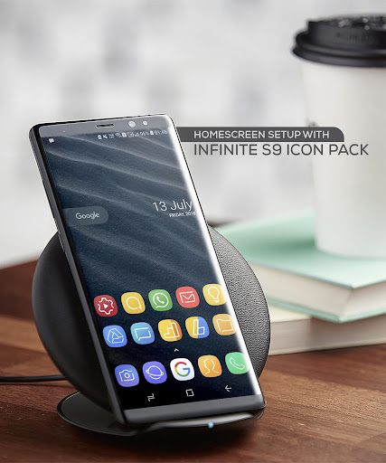 Infinite S9 Icon Pack  screenshots 8