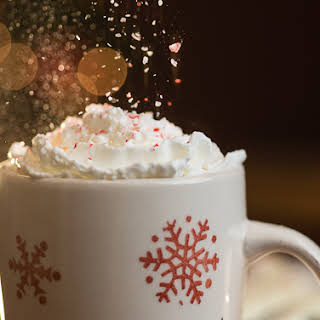 White Chocolate Peppermint Coffee.