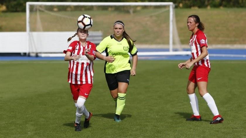 Imagen de partido de la primera vuelta en el que el Almería venció 5-1 al Pavía A.