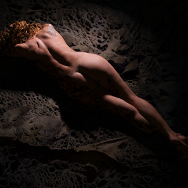 The Woman in Rock by Cesare Riccardi - Nudes & Boudoir Artistic Nude ( woman, artistic nude,  )