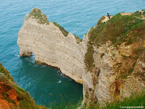 Photo: #007-Etretat. La Porte d'Amont.