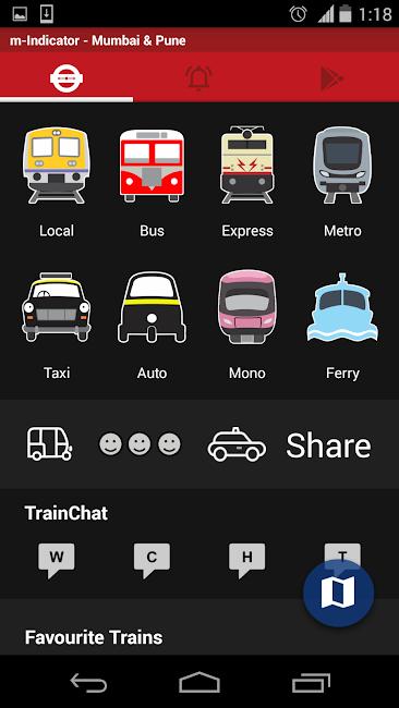#1. Mumbai Local Train Timetable (Android)
