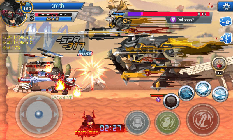 Soul Guardians: reatime action battle- screenshot