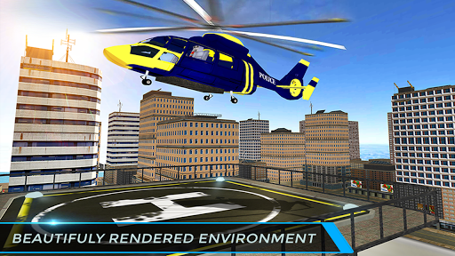 Real City Police Helicopter Games: Rescue Missions 4.0 screenshots 5