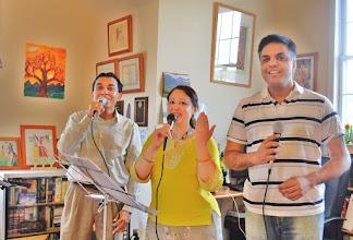 Photo: rehearsal .... karaoke songs