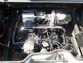 Photo: 1966 Chevrolet RPO* - L87 Turbocharged 180 HP engine - 1951 produced during the last year it was available.  (*RPO = Regular Production Option, a letter+number code system to order specific options for your Chevy.)
