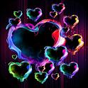 Magic Hearts Live Wallpaper icon