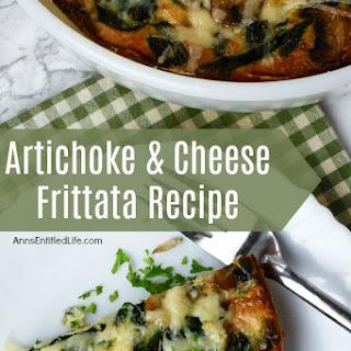 Artichoke and Cheese Frittata.