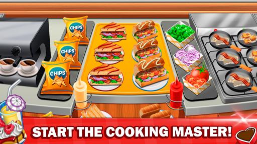 Télécharger gratuit Jeux de cuisine 2020 Restaurant Fever Master Craze APK MOD 1