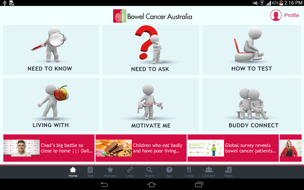 Bowel Cancer- screenshot