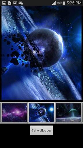 銀河太空壁紙