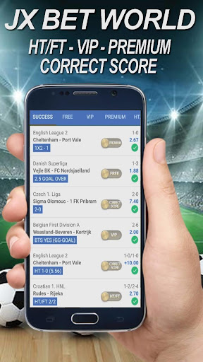 Betting Tips - JXBet World ( No ADS ) 1.1 screenshots 1