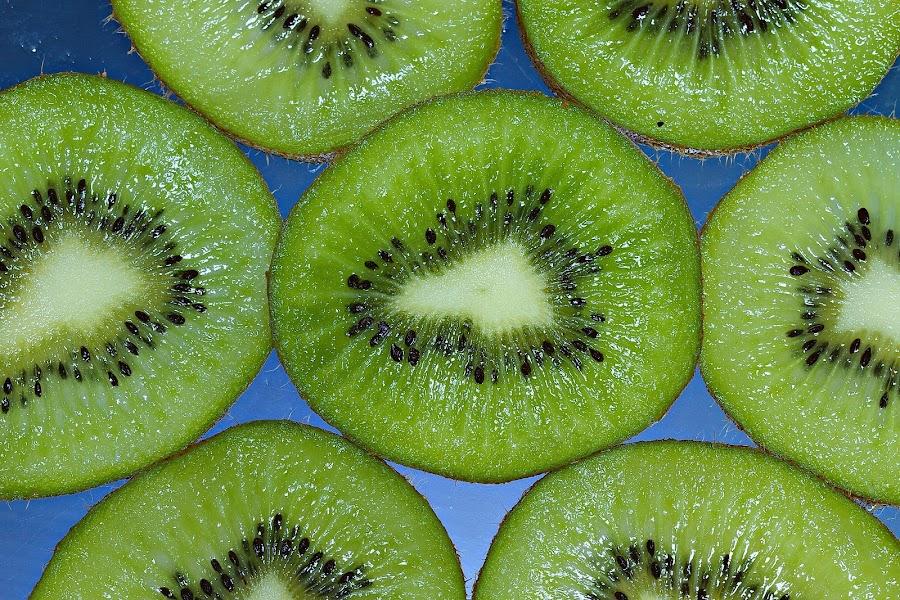 Kiwi Wallpaper by Senthil Damodaran - Food & Drink Fruits & Vegetables ( fruit, pwcfruit, food, kiwi, wallpaper, light )