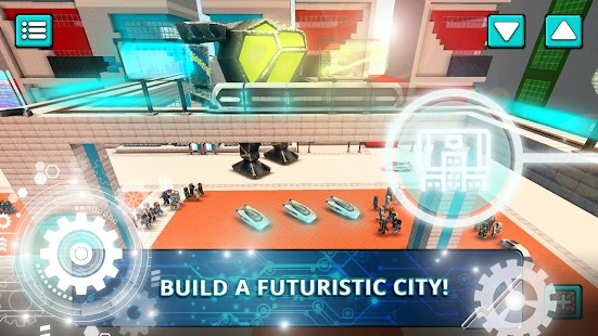 Future craft sci fi crafting city building games for Crafting and building app store