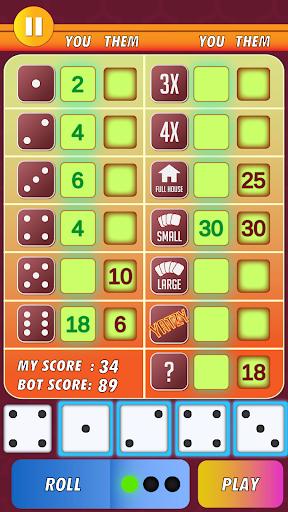 Yatzy Classic Dice Game - Offline Free 3.1 screenshots 1
