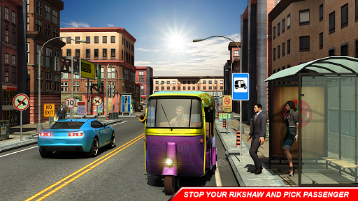 City Auto Rickshaw Tuk Tuk Driver 2019 0.1 screenshots 3