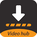 N hub Video Downloader: Private download videos icon