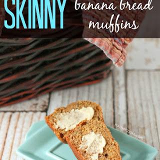 Skinny Banana Bread Muffins