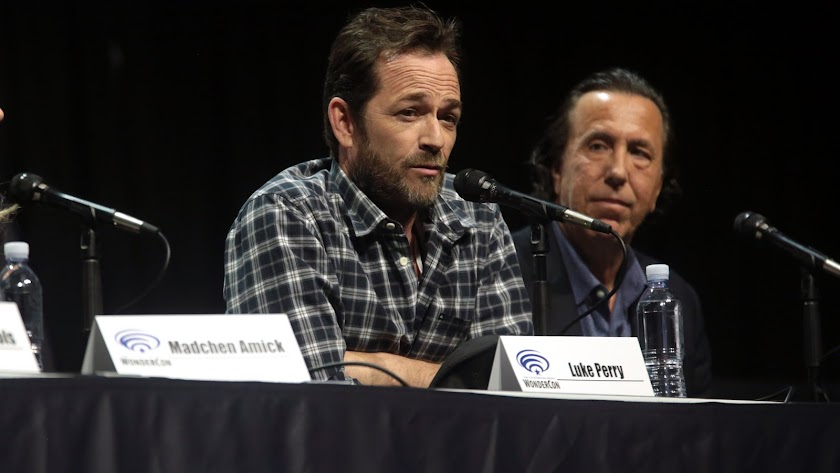 El actor Luke Perry.