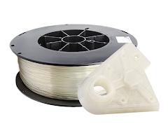 Natural Translucent PRO Series PLA Filament - 2.85mm (5LB)