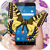 Butterfly in phone joke