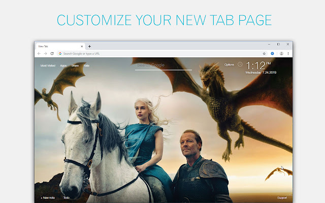 Game Of Thrones Wallpapers Custom GOT New Tab