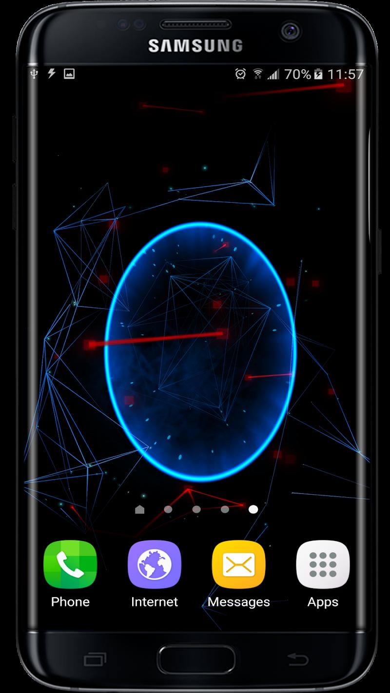 Abstract Particles Wallpaper Screenshot 5