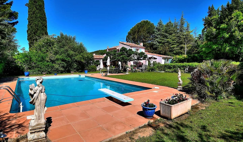 Villa avec piscine Villecroze