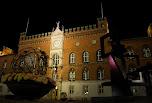 Hôtel de ville la nuit