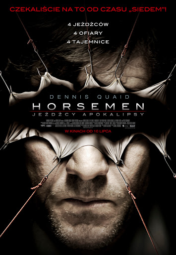 Polski plakat filmu 'Horsemen - Jeźdźcy Apokalipsy'