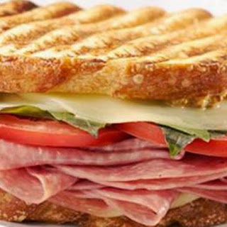 Salami and Cheese Panini #BurgerWorld