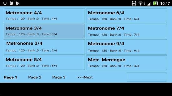 Metrodrummer metronomo e batteria elettronica Screenshot
