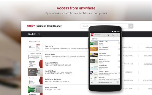Business Card Reader Pro - Business Card Scanner  screenshots 10