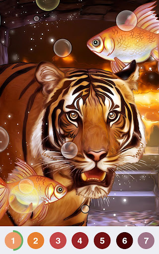 Art Coloring - Coloring Book & Color By Number 2.0.0 screenshots 21