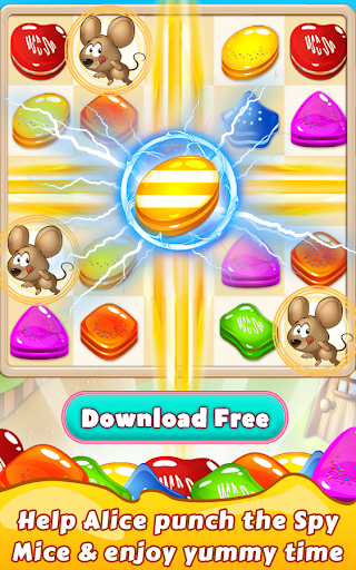 Cookie Star: Sugar cake puzzle match-3 game apktram screenshots 18