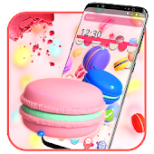 Pink Sweet Macaron Theme Android APK Download Free By Fancy Theme Palace