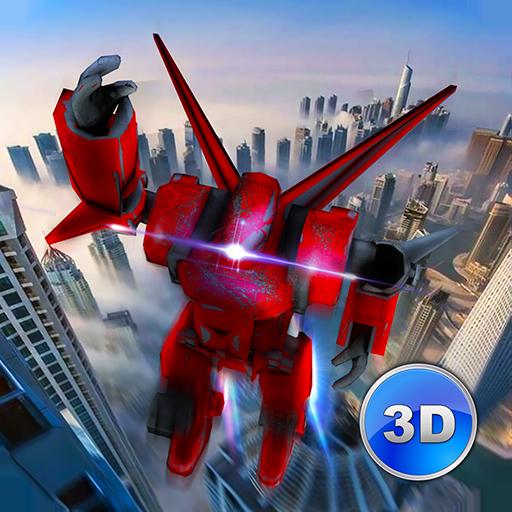 Flying Robot Simulator 3D