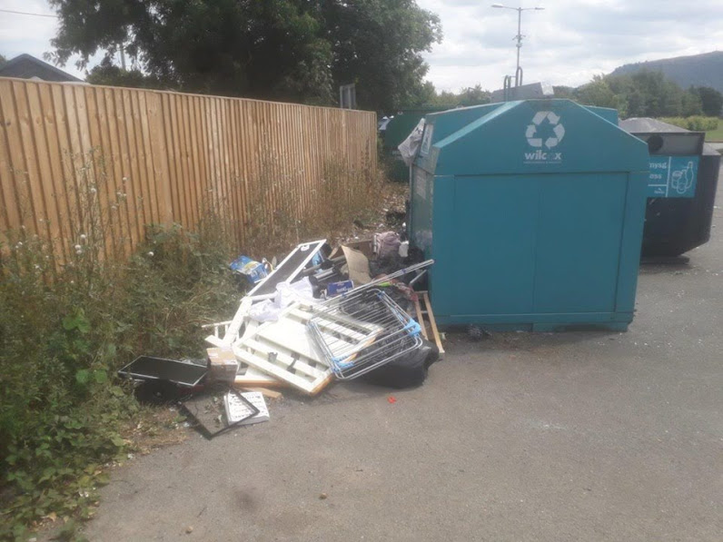 Fined for fly tipping offence