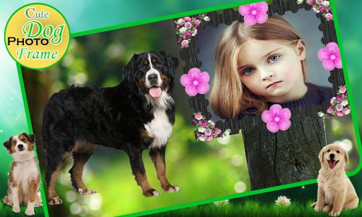 可爱的小狗相框