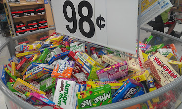 Photo: You can't have a party without candy, and at $0.98 they can each have their own favorite candies.
