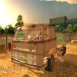 Heavy Truck Driver Danger Road
