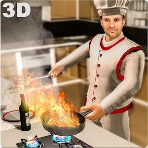 Real Cooking Game 3D-Virtual Kitchen Chef