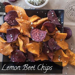 Lemon Beet Chips.