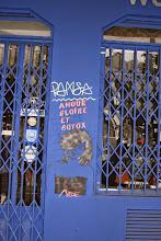 Photo: Street art - Miss Tic - Paris XIe - place du père Chaillet
